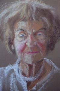 Portret Krystyny Łopuchin